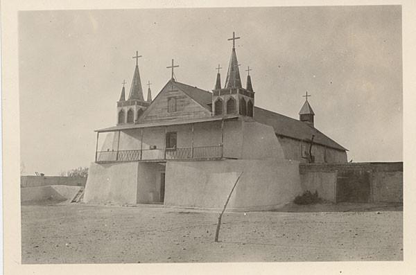 Isleta Mission in 1925