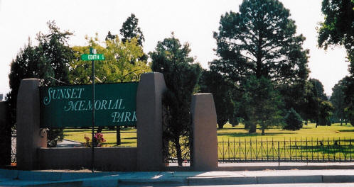 Sunset Memorial Park, Albuquerque, Bernalillo County, New Mexico