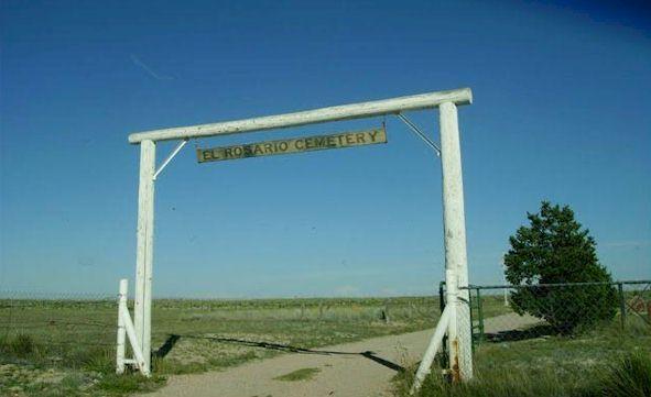 El Rosario Cemetery, Vaughn, Torrance County, New Mexico