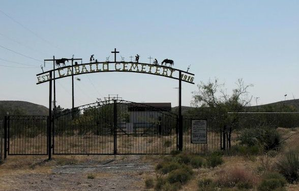 Caballo Cemetery, Caballo, Sierra County, New Mexico