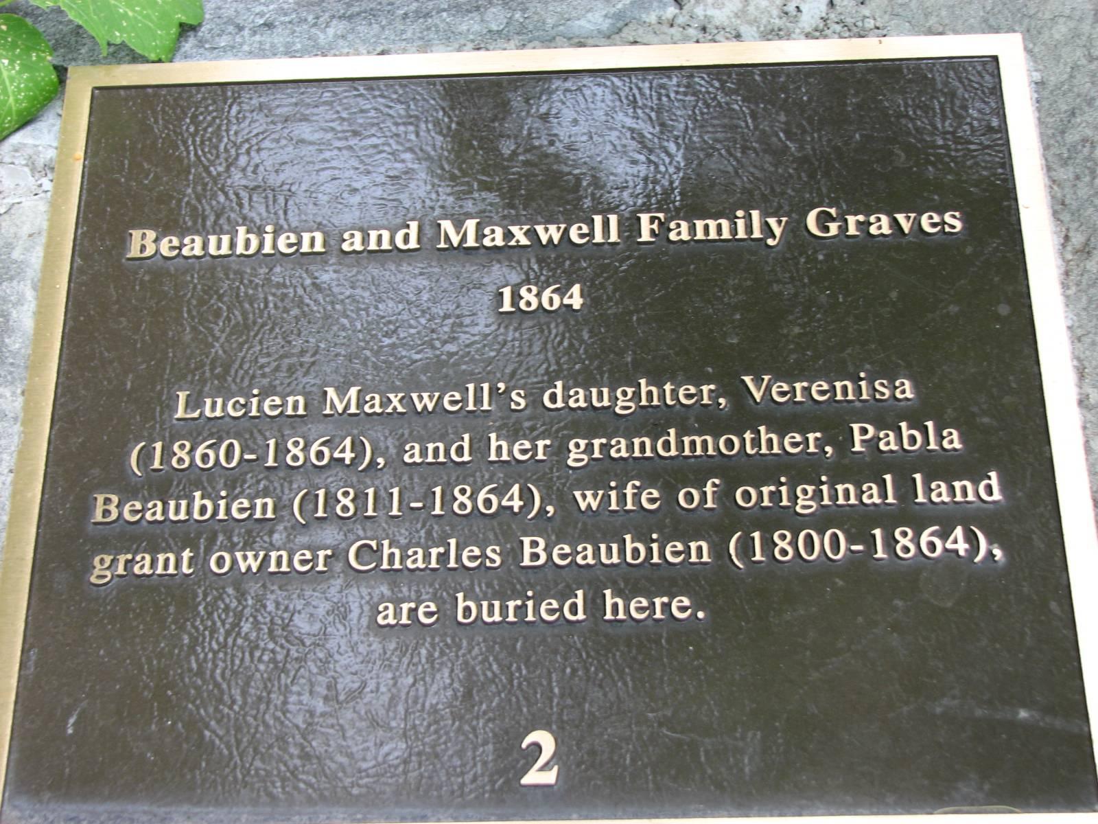 Maxwell Plaza Memorial, Cimarron, Colfax County, New Mexico