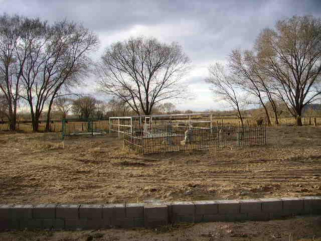 El Cemeterio de los Ricos, Valencia County, New Mexico
