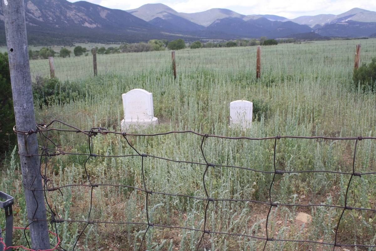 Heck Cemetery, Colfax County, New Mexico