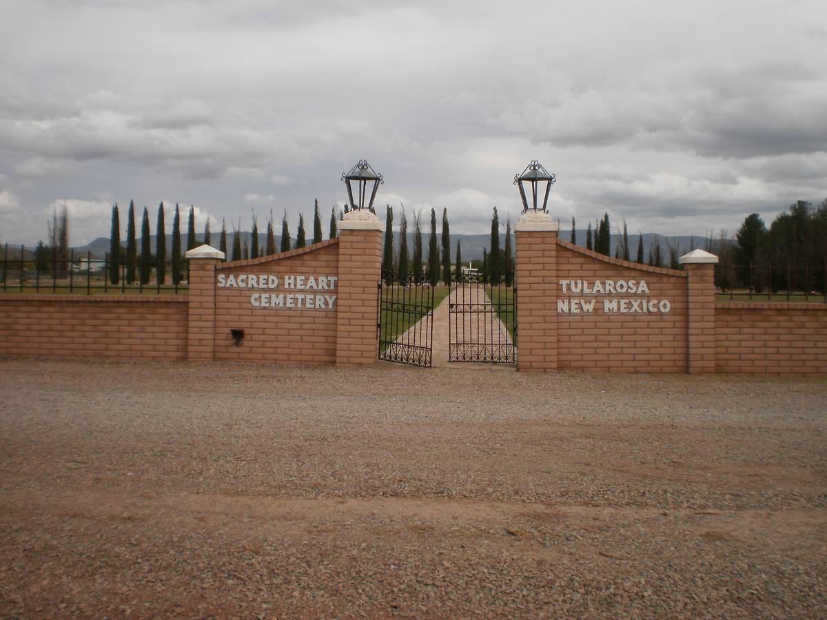 Sacred Heart Cemetery, Tularosa, Otero County, New Mexico