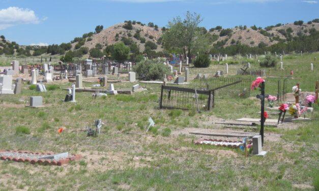 Camposanto de la Cruz, El Rancho, Santa Fe County, New Mexico