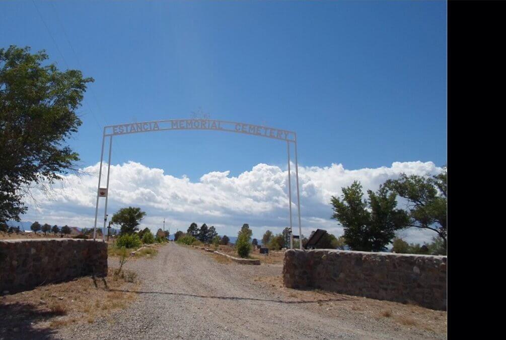Estancia Memorial Cemetery, Estancia, Torrance County, New Mexico
