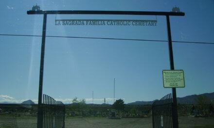 La Sagrada Familia Catholic Cemetery, Lemitar, Socorro County, New Mexico