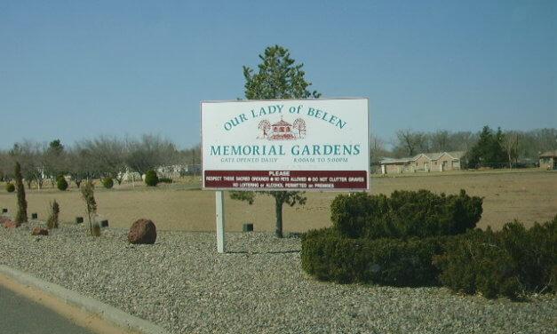 Our Lady of Belen Memorial Gardens, Belen, Valencia County, New Mexico