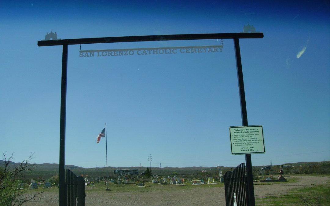 San Lorenzo Catholic Cemetery, Polvadera, Socorro County, New Mexico