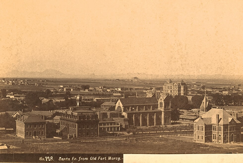 Fort Marcy Cemetery, Santa Fe, Santa Fe County, New Mexico